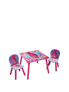 Dreamworks Trolls Table And Chairs By Hellohome