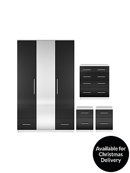 cologne-gloss-4-piece-package-3-door-2-drawer-mirrored-wardrobe-4-drawer-chest-2-bedside-cabinets-buy-and-save