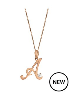 love-silver-sterling-silver-plated-in-rose-gold-cubic-zirconia-initial-pendant