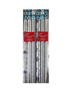 18-piece-silver-christmas-gift-wrap-bundle