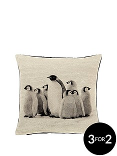 winter-penguins-cushion-43x43cms