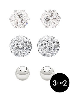 love-silver-sterling-silver-4mm-polished-ball-5mm-cz-stud-and-6mm-crystal-ball-earring-set