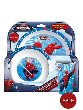 spiderman-dining-amp-cutlery-set