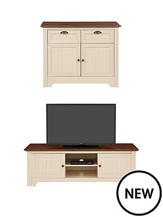 devon-2-piece-package-compact-sideboard-and-tv-unit-buy-and-save