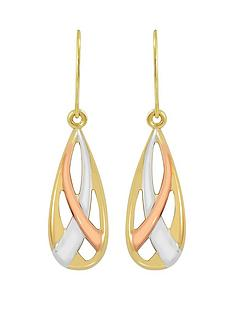 love-gold-9ct-gold-earrings-with-white-and-rose-rhodium-highlights