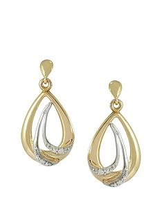 love-gold-love-gold-9ct-gold-cubic-zirconia-earrings-with-white-rhodium-highlights