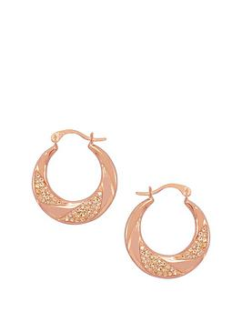 love-gold-9ct-rose-gold-crystal-set-twist-creole-earring