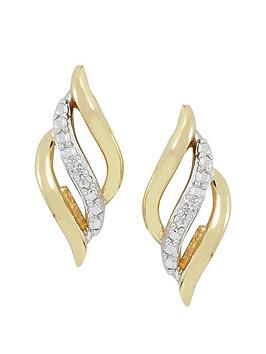 love-gold-9ct-gold-cubic-zirconianbsplattice-earring