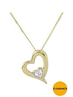 love-gold-9ct-yellow-gold-diamond-set-heart-pendant