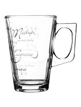 Ravenhead Script Latte Mugs &Ndash Set Of 4