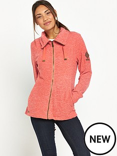 regatta-endora-lightweight-cowl-neck-full-zip-fleece-coral
