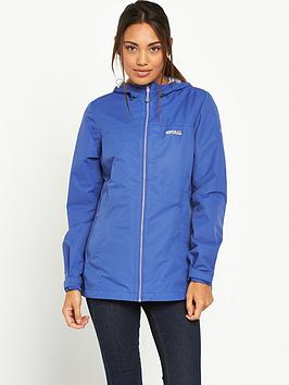 Regatta Hamara Waterproof Jacket  Blue