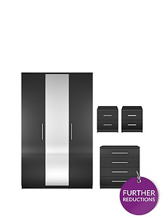 prague-gloss-4-piece-package-3-door-wardrobe-4-drawer-chest-and-2-bedside-cabinets