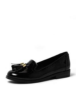 river-island-girls-patent-brogues-with-tassel-trim