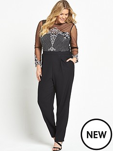 little-mistress-curve-long-sleeve-lace-jumpsuit-black