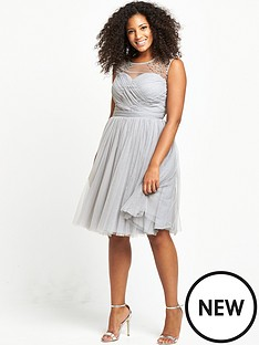 little-mistress-curve-sheer-midi-dress-grey