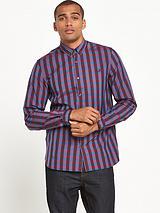 Marl Gingham Long Sleeve Shirt