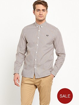 fred-perry-basketweave-long-sleeve-shirt