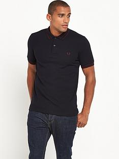 fred-perry-tramline-tipped-polo