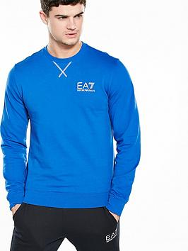 Emporio Armani Ea7 Logo Crew Neck Sweatshirt