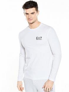 emporio-armani-ea7-small-logo-ls-t-shirt