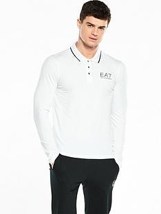 emporio-armani-ea7-small-logo-ls-polo-shirt