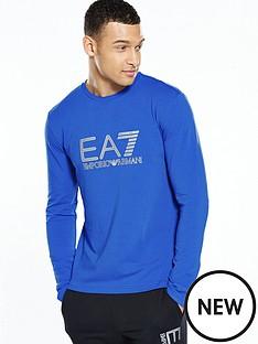emporio-armani-ea7-visibility-logo-ls-t-shirt