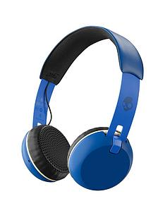 skullcandy-grindnbspwirelessbluetooth-on-earnbspheadphonesnbsp--royal-creamblue