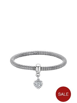 buckley-london-rhodium-plated-mesh-heart-bracelet-christmas-bauble
