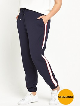 v-by-very-curve-side-stripe-cuffed-jogger