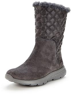 skechers-gleam-quilted-boot