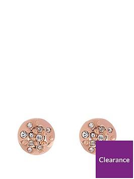karen-millen-karen-millen-rose-gold-sprinkle-studs-made-with-swarovski-elements