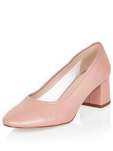 river-island-block-heel-leather-glove-shoe