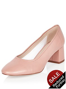river-island-block-heel-leather-glove-shoe