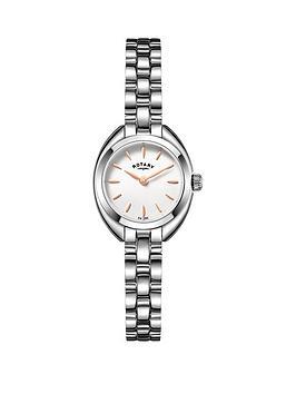 rotary-rotary-petite-white-dial-silver-tone-bracelet-ladies-watch