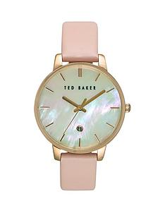 ted-baker-ted-baker-mother-of-pearl-dial-pink-leather-strap-ladies-watch