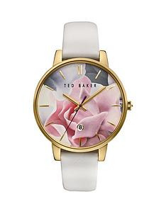 ted-baker-ted-baker-floral-dial-white-leather-strap-ladies-watch