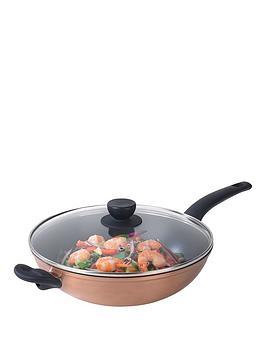 salter-copper-effect-28cm-wok