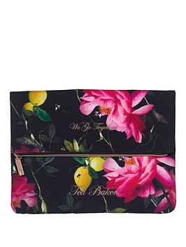 ted-baker-ted-baker-black-citrus-bloom-laundry-bags