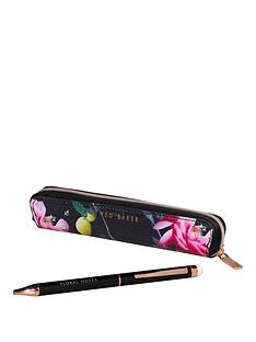 ted-baker-ted-baker-black-citrus-bloom-touchscreen-pen