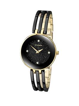 sekonda-black-dial-black-bracelet-ladies-watch