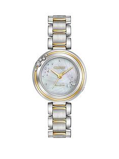 citizen-citizen-eco-drive-carina-diamond-mother-of-pearl-dial-two-tone-stainless-steel-ladies-watch