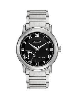 citizen-citizen-eco-drive-power-reserve-black-dial-stainless-steel-bracelet-mens-watch
