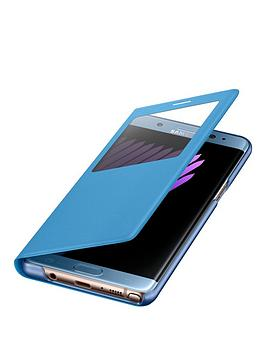 samsung-galaxy-note-7-s-view-standing-protective-cover-case-blue