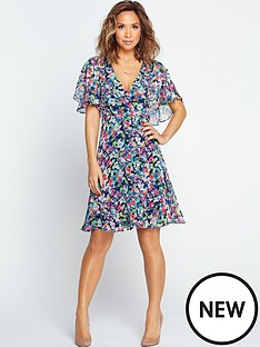 myleene-klass-angel-sleeve-tea-dress