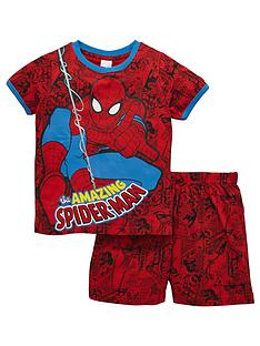 spiderman-short-pyjamas