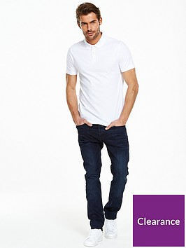 v-by-very-short-sleeve-jersey-polo-white