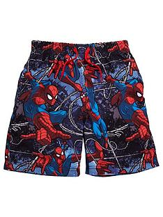 spiderman-boys-swim-shorts