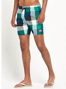 speedo-printed-check-leisure-water-shorts