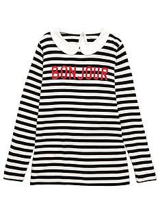 v-by-very-girls-stripe-peter-pan-collar-top